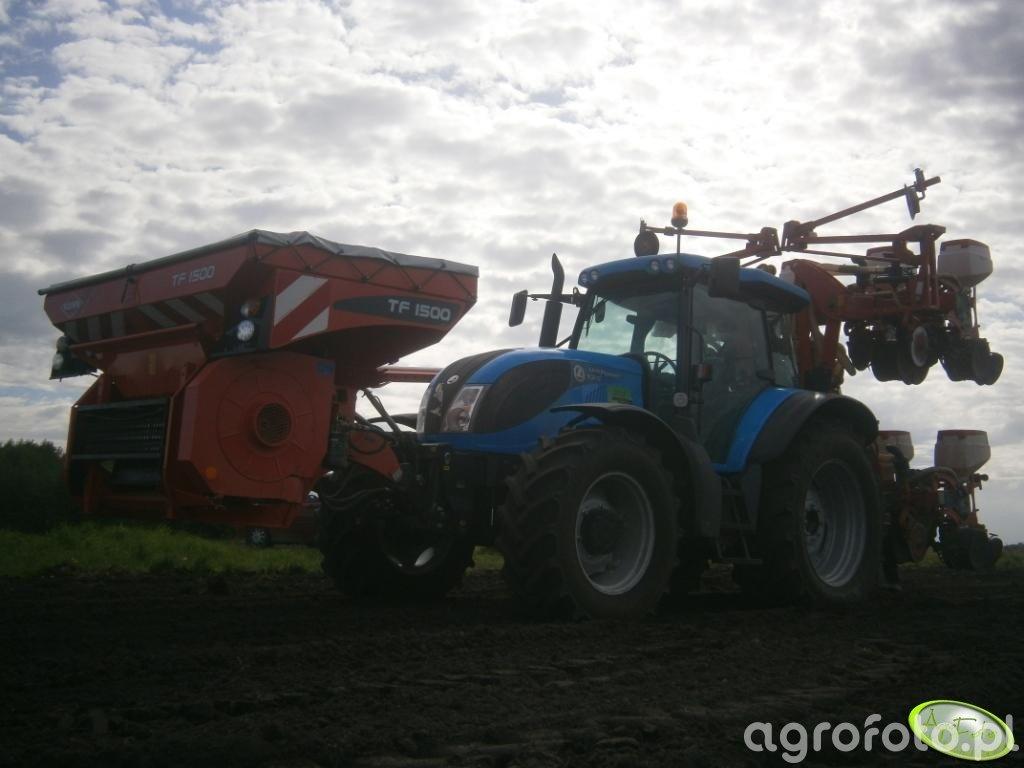 Landini 125 Power + Siewnik Gaspardo + Kuhn TF 150