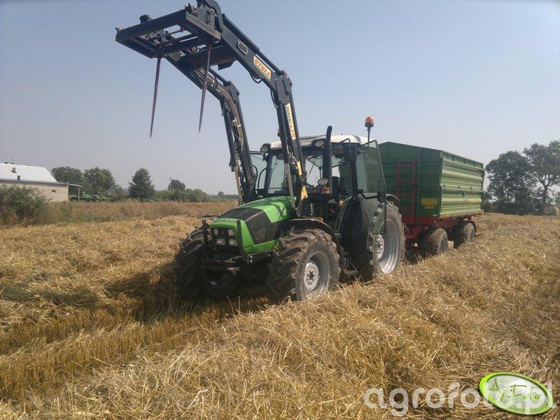Deutz-Fahr Agrofarm 85 & Pronar
