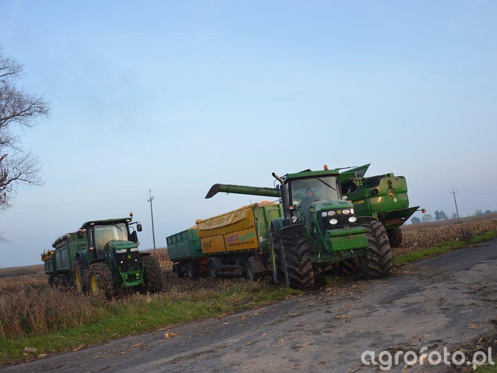 John Deere 7230R & 7720 & S660