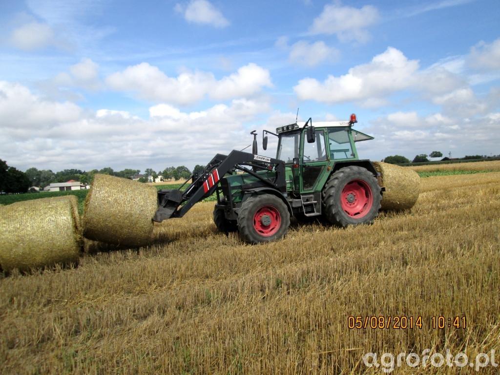 Fendt Farmer 306 LSA i Mailleux + nośnik bel