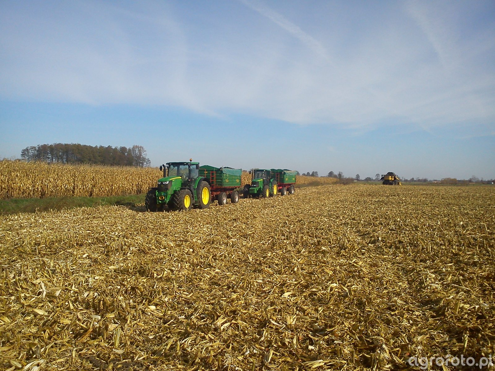 JD 6620 & JD 6170R & NH CX