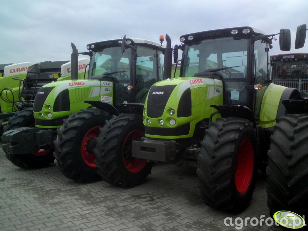 Claas Arion 620 & 630