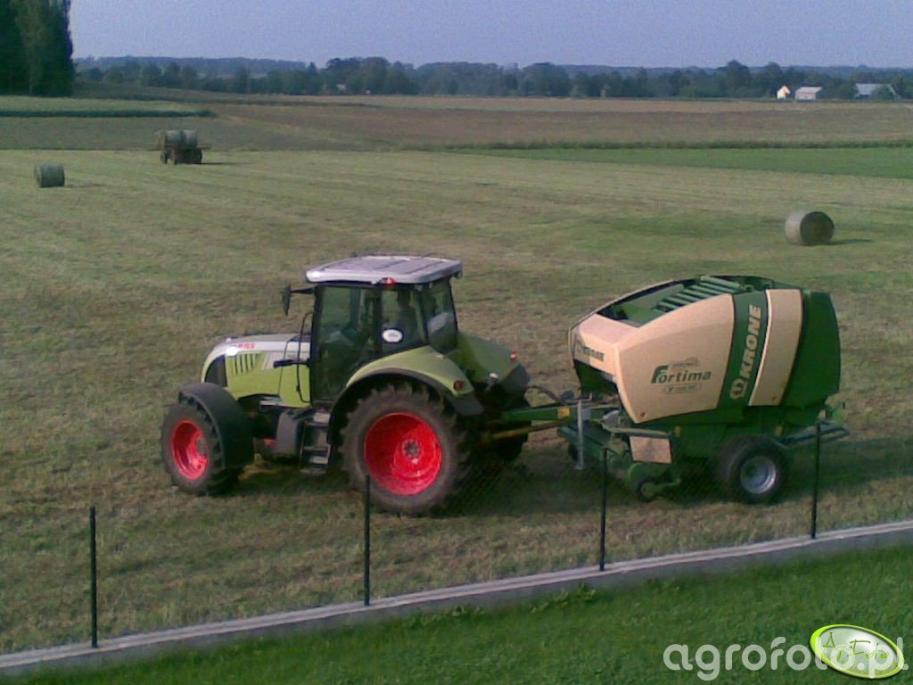 Claas Arion 620 i Fortima 1500 mc