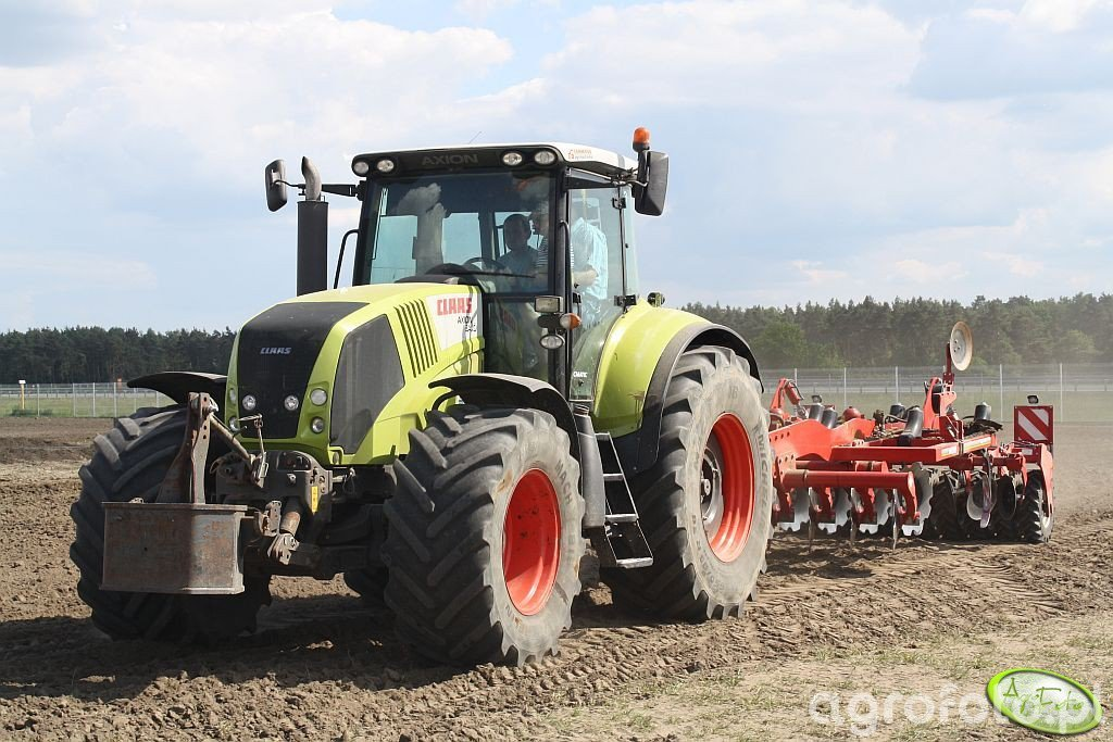 Claas Axion 840 & Horsch