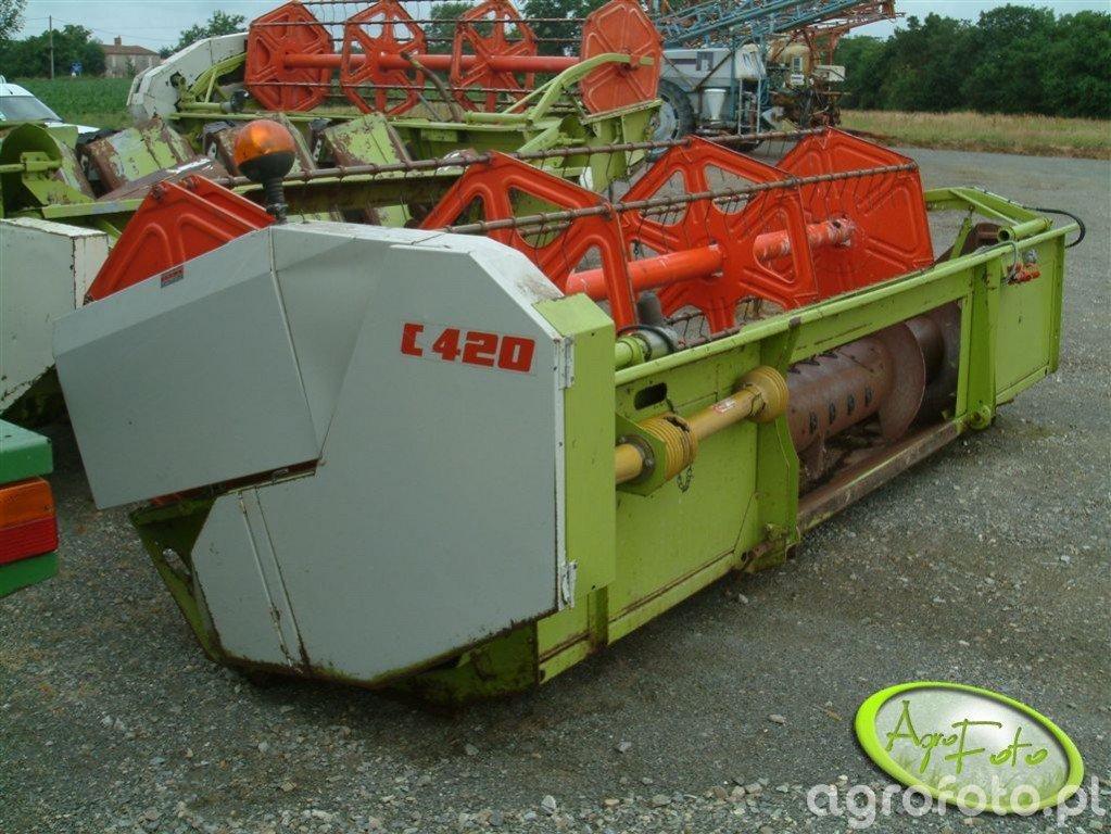 Claas C420