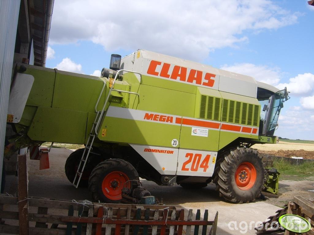 Claas Dominator 204 Mega II