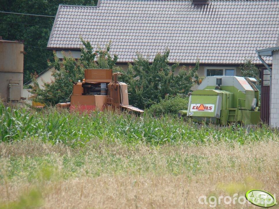 Claas Dominator 86 & Bizon Super Z056