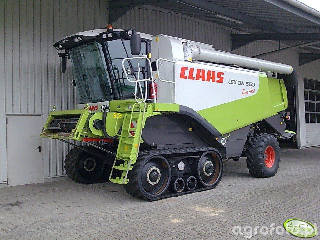 Claas Lexion 560 Terra-Trac