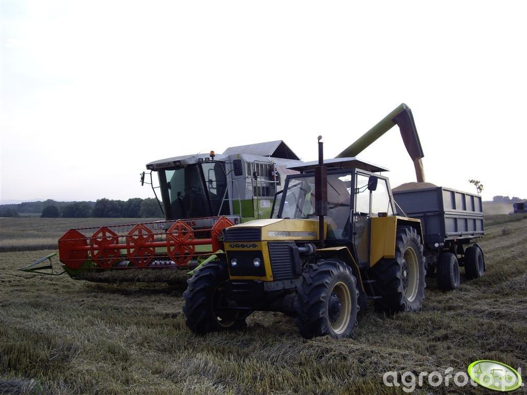 Claas Mega 350 & Ursus 1224