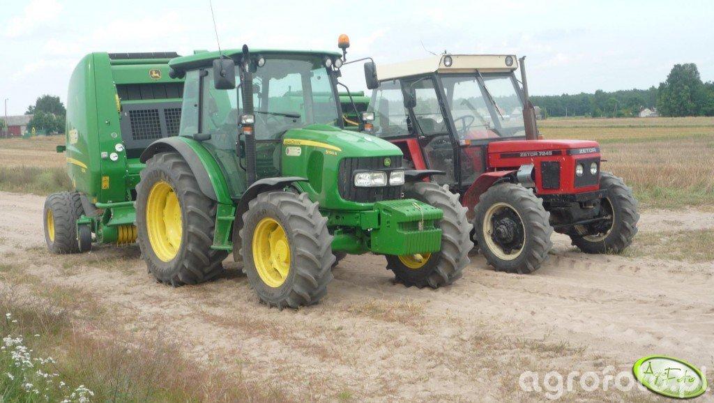 John Deere 5080R & Zetor 7245