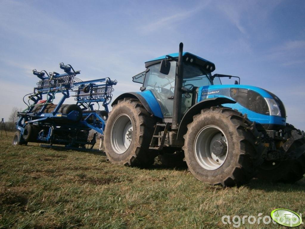 Landini 7-230 & Maxiroll 830 DAL-BO