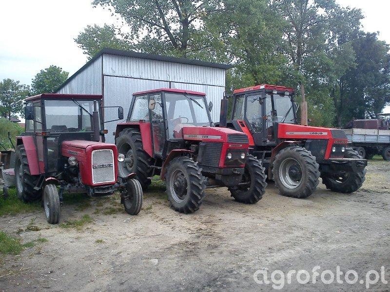 Ursus 1634 + 914 + C-355