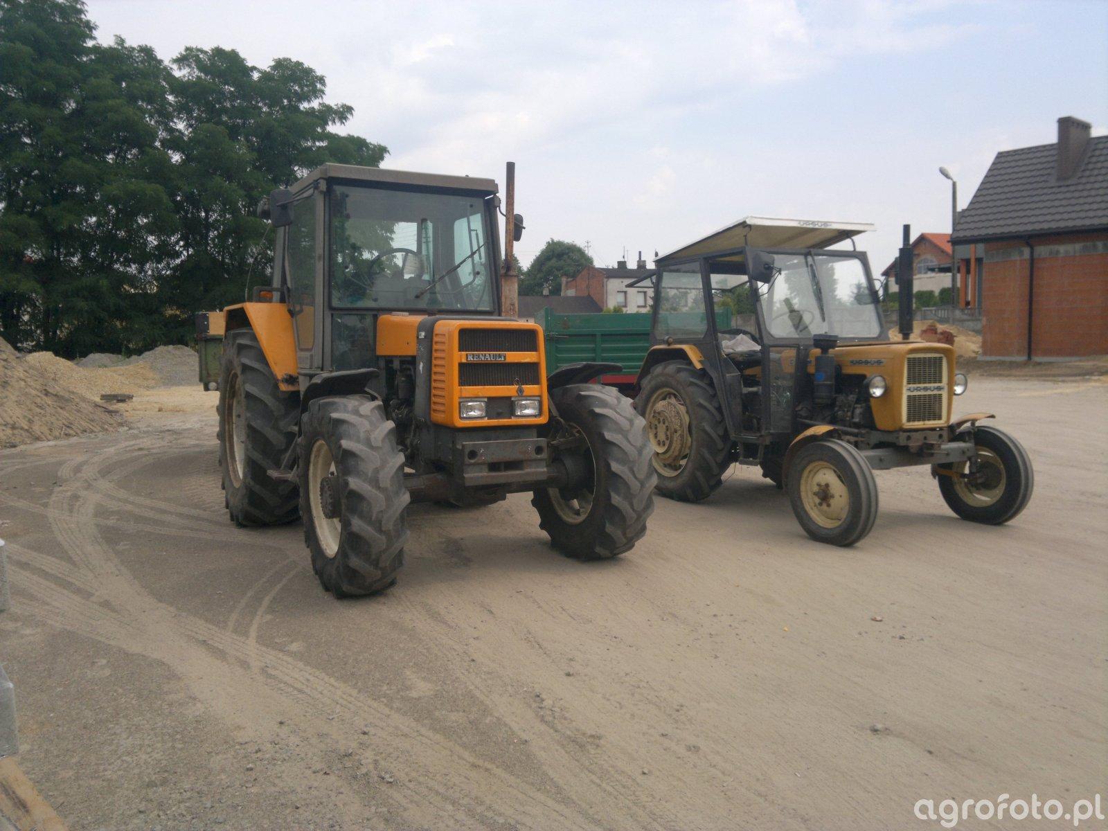 Renault 75-14 RS + Autosan D35M oraz Ursus C-330M + Autosan D35