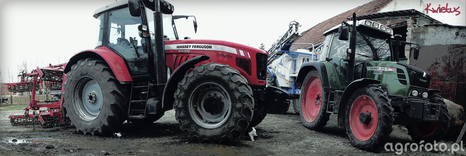 MF 6480 Dyna-6; Fendt 312 Vario TMS