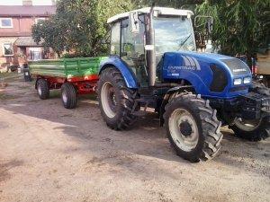 Farmtrac & przyczepa Pronar 6t