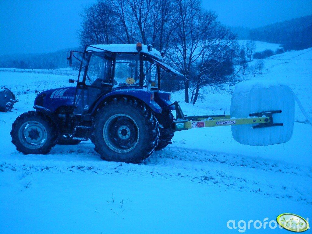 Farmtrac 80 4WD + Sipma Rozmaryn