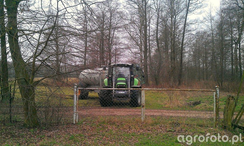 Deutz Fahr Agrotron M610 + Stoll FZ 30 + Joskin Modulo2 10000 ME