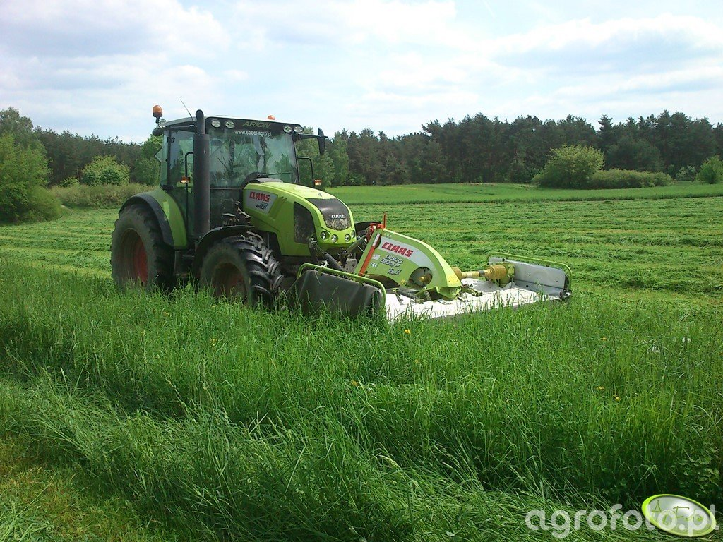 Claas Arion 420 CIS + Claas Disco 3100 F Profil
