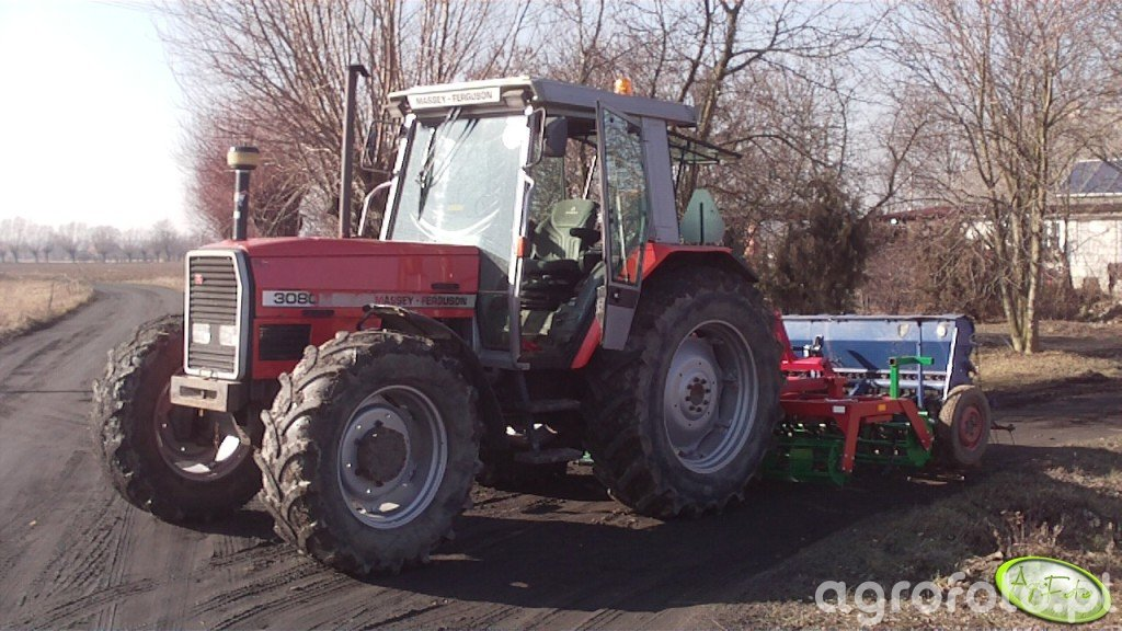 Massey Ferguson 3080 + agregat uprawowo-siewny 2,7m