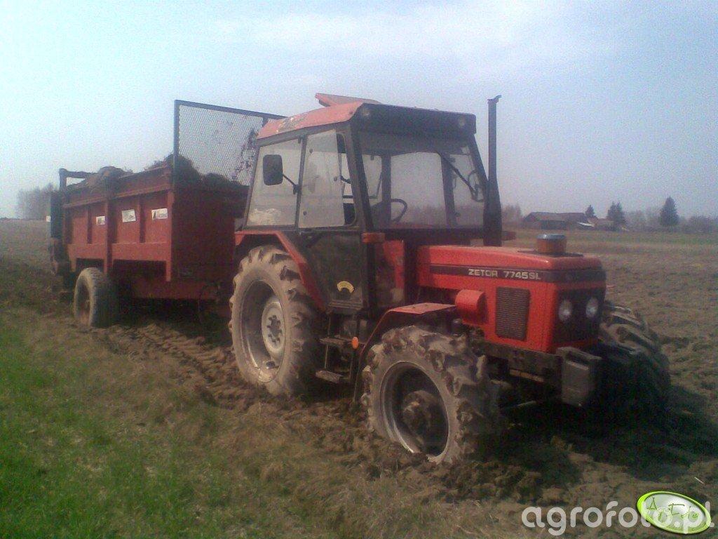 Zetor 7745 + Agrimat