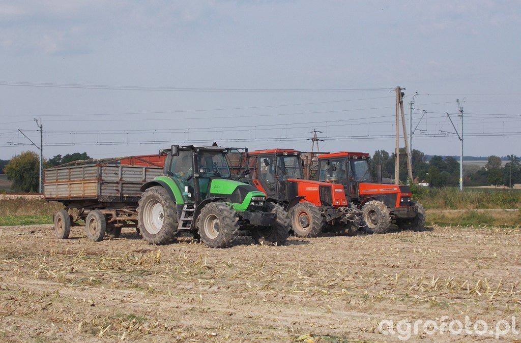 Ursus 1434 & Ursus 1754 & DF Agrotron K610