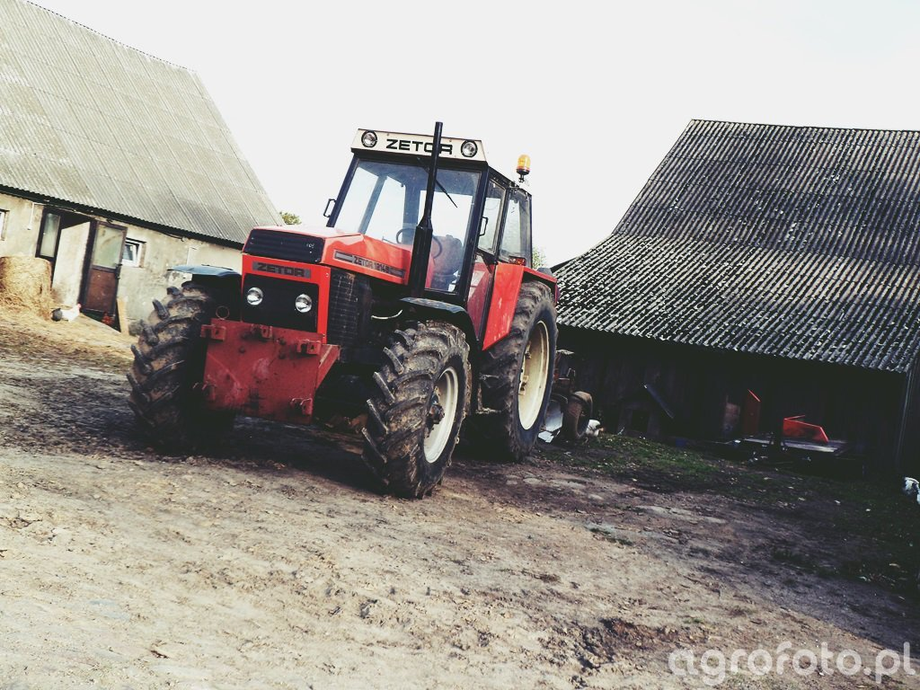 Zetor 12145+Kverneland