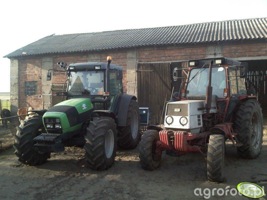 Deutz Fahr Agrofarm 420 & LTZ-55A