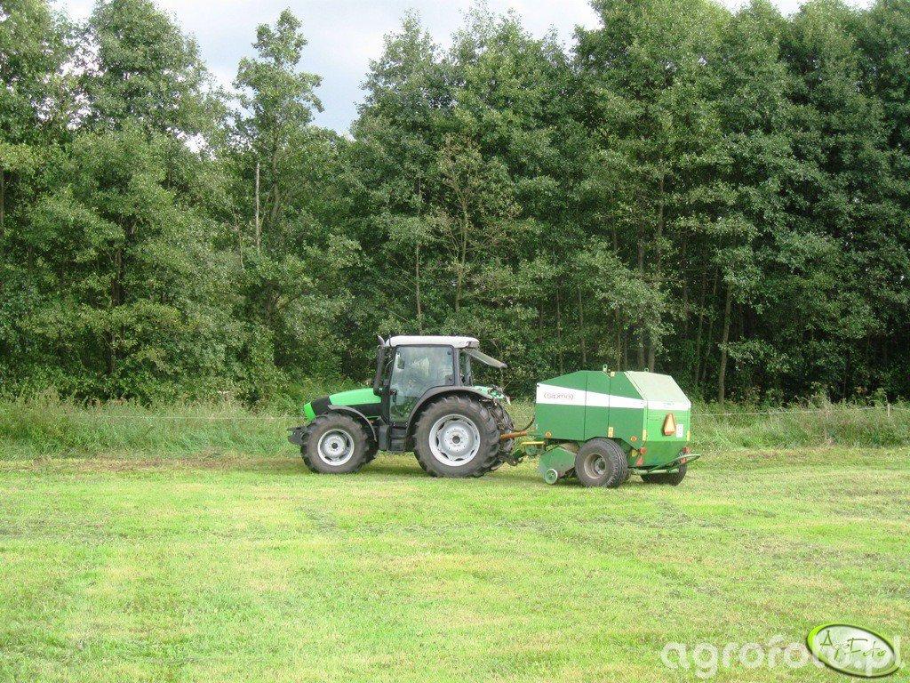 Deutz - Fahr Agrofarm 420 + Sipma Classic