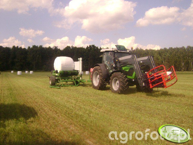 Deutz-Fahr Agrofarm 420 + Sipma Maja