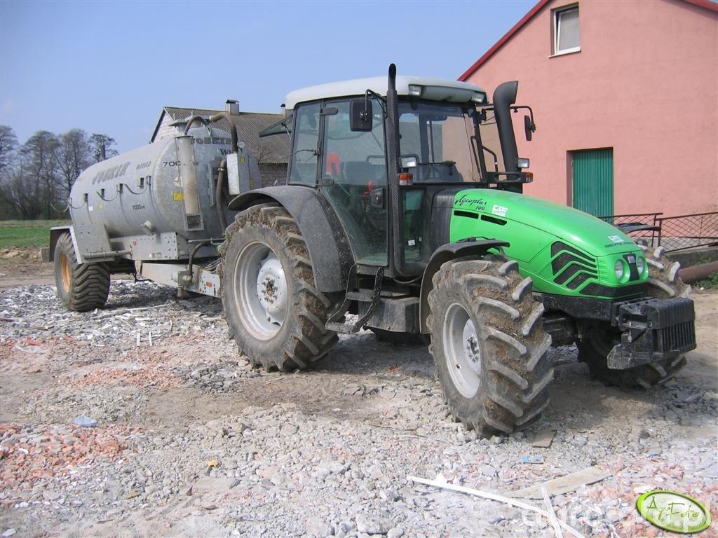Deutz-Fahr Agroplus 100 + Joskin 7000ME WIN-PACK