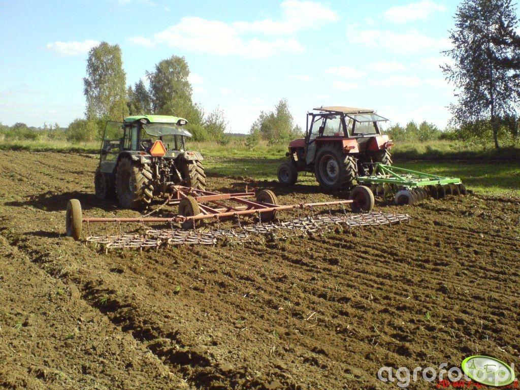 Deutz Fahr Agroplus 80 i Ursus