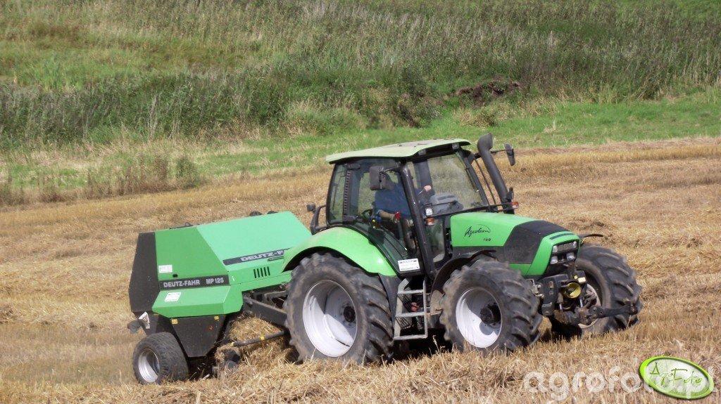 Deutz Fahr Agrotron 150 & Deutz Fahr MP125