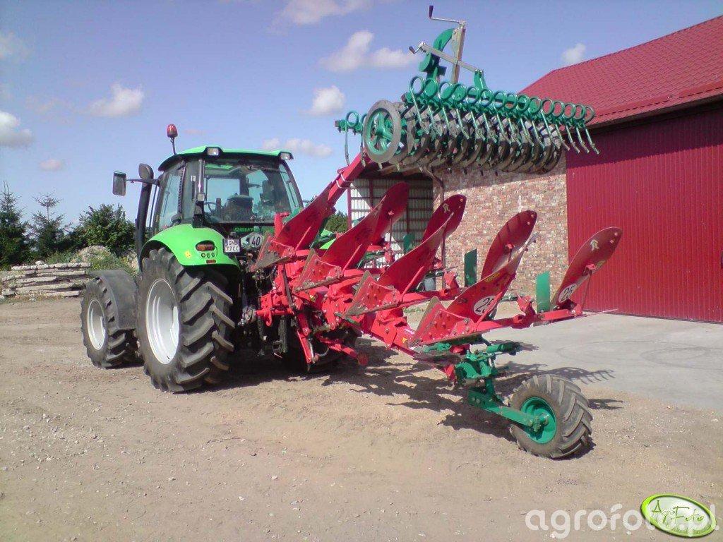 Deutz Fahr Agrotron 150 + Kverneland EM 100 Packomat