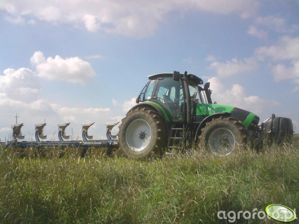 Deutz-Fahr Agrotron 155 + Overum Xcelsior DX
