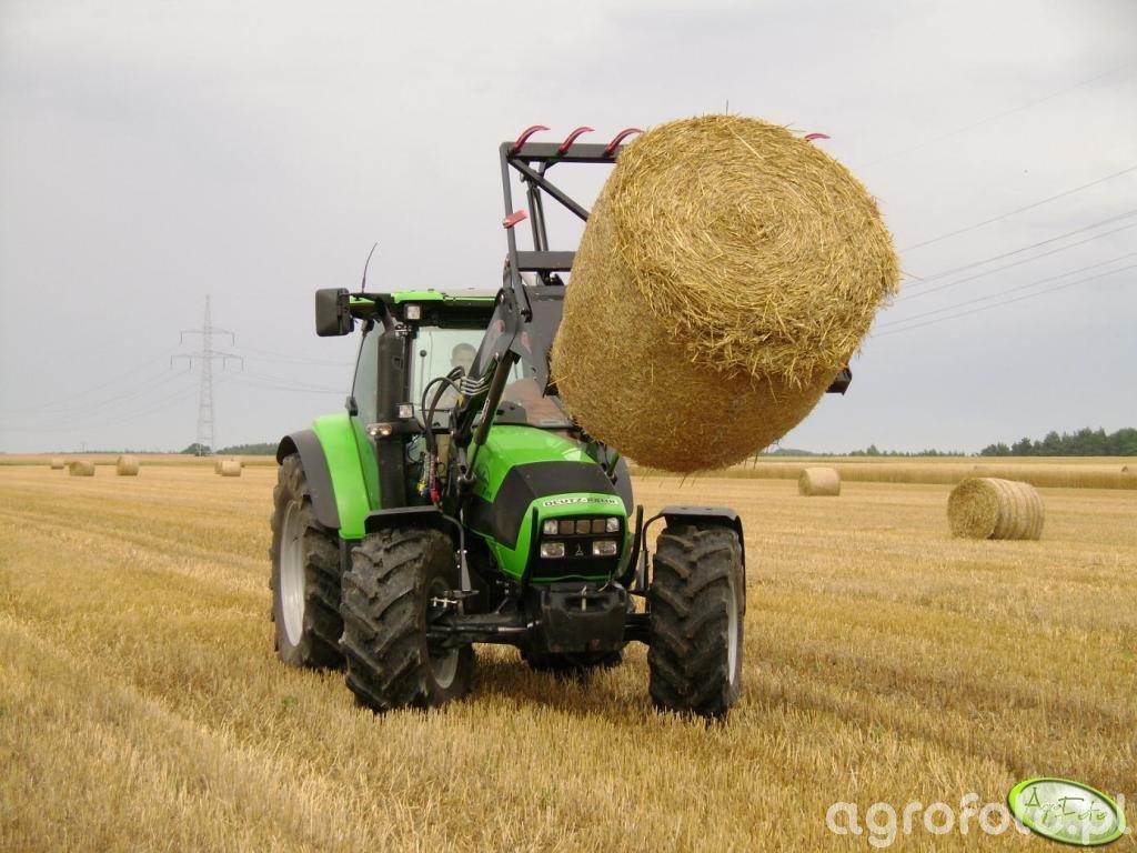Deutz-Fahr Agrotron K110 + Stoll FZ30+