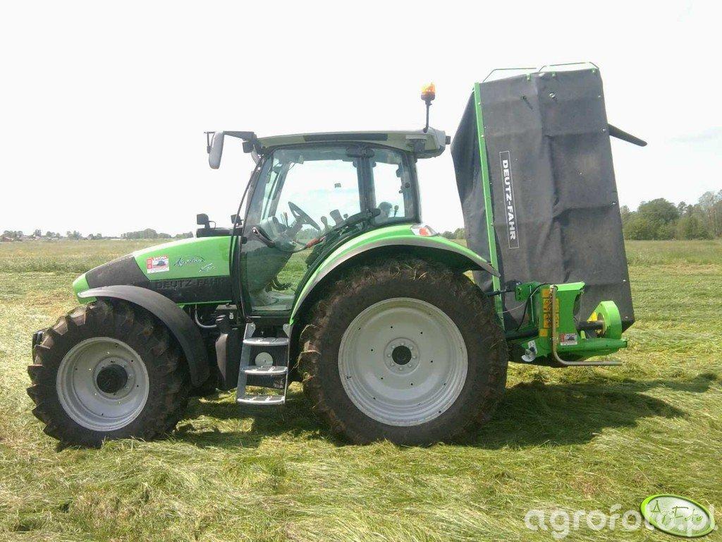 Deutz-Fahr Agrotron K410 & Deutz-Fahr DiscMaster 228
