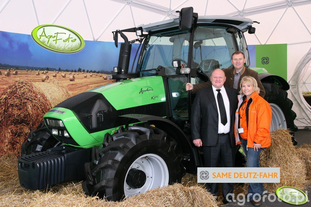 Deutz-Fahr Agrotron K610 Niedziela 123