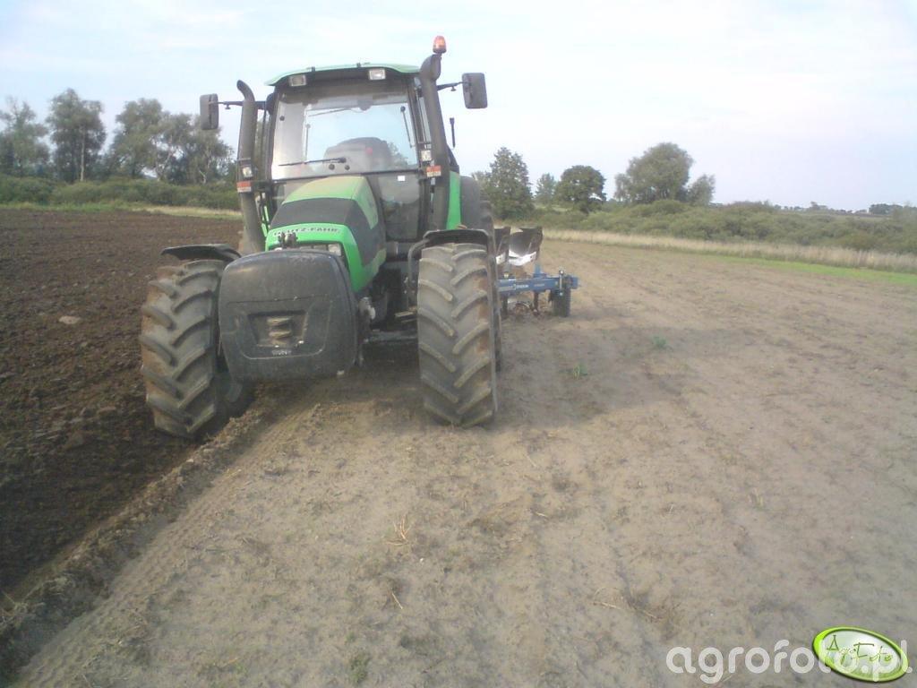 Deutz Fahr Agrotron155 & Overum Xcelsior DX
