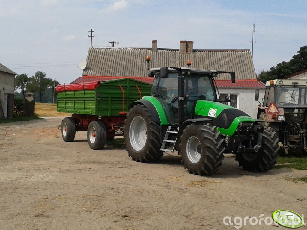 Deutz-Fahr K610 & HW-8011