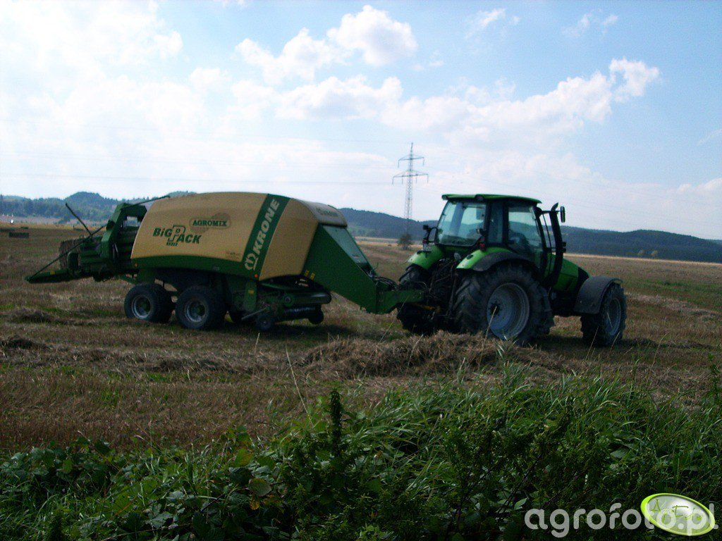 Deutz-Fahr + Krone Big Pack
