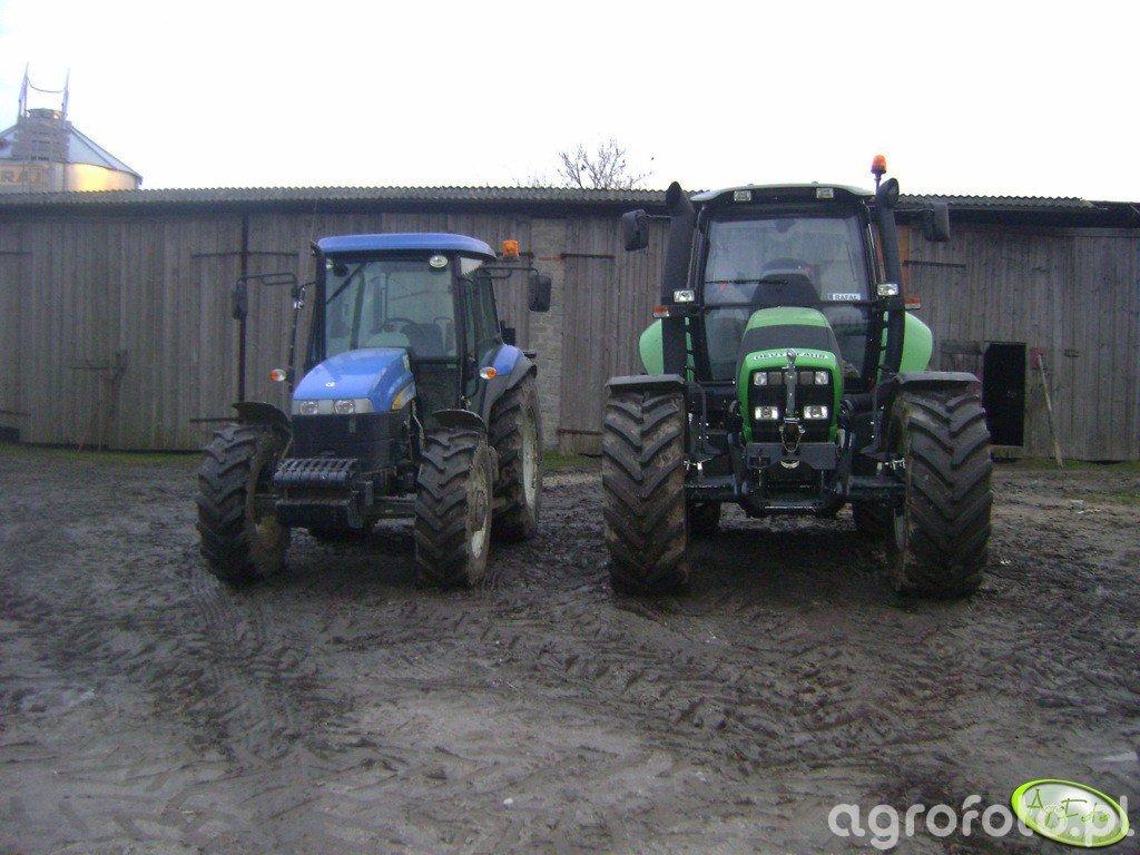 Deutz Fahr M620 & New Holland TD 5030