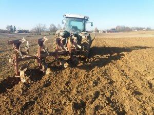 DEUTZ-FAHR Agrofarm 430 profiline + unia ibis