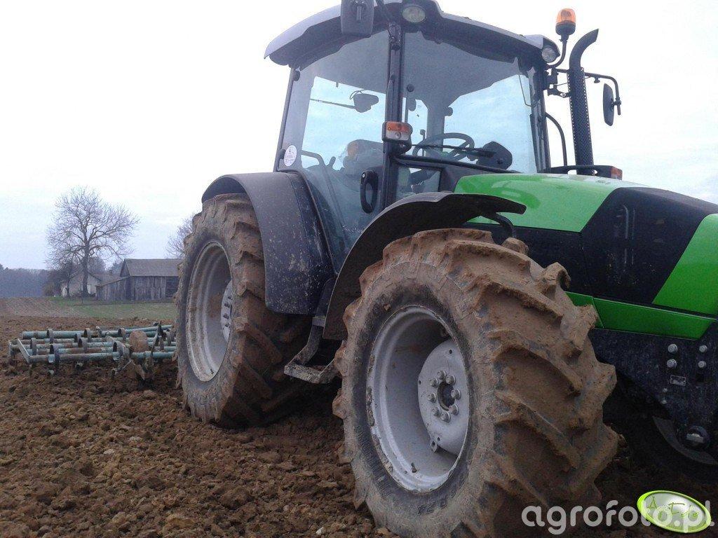 DF Agrofarm 430 profiline + henryk 4 m