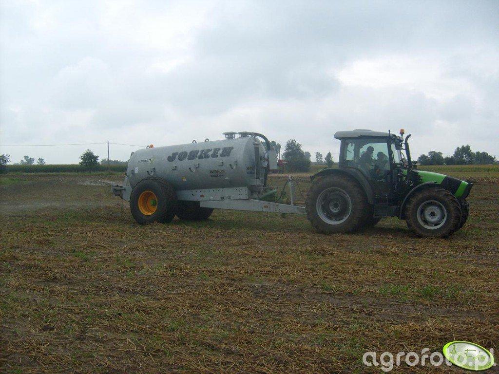 DF Agrofarm 430GS i Joskin 8400ME