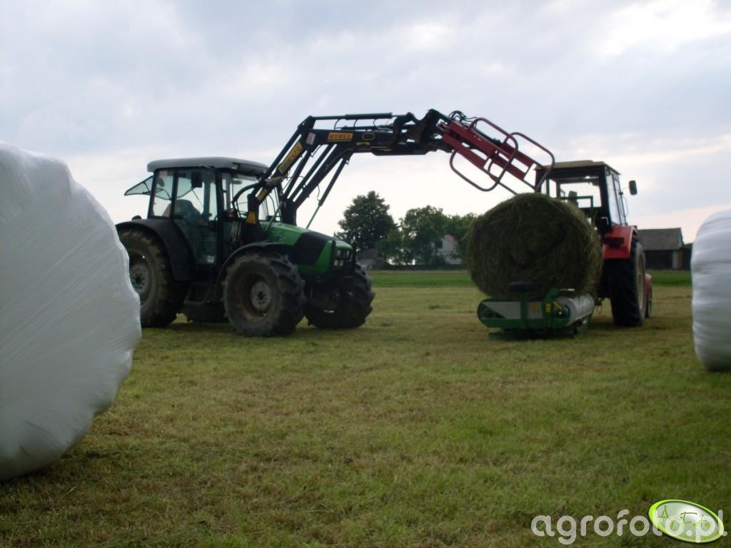 DF Agrofarm 85 i Ursus C-360