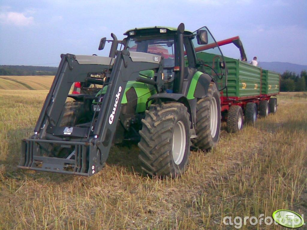 DF Agrotron 135 + 2X Metal Tech