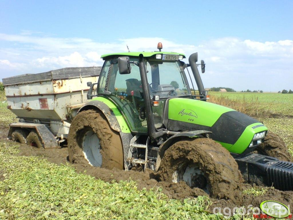 DF Agrotron 140 DT