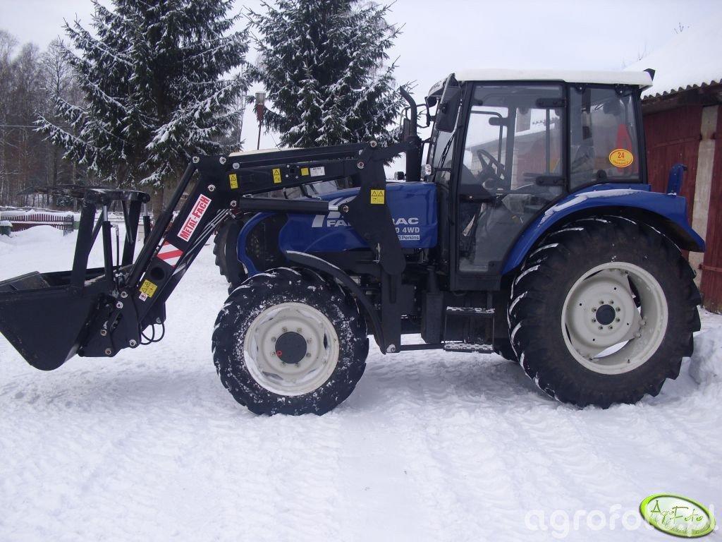 Farmtrac 80 4WD + Tur Metal-Fach