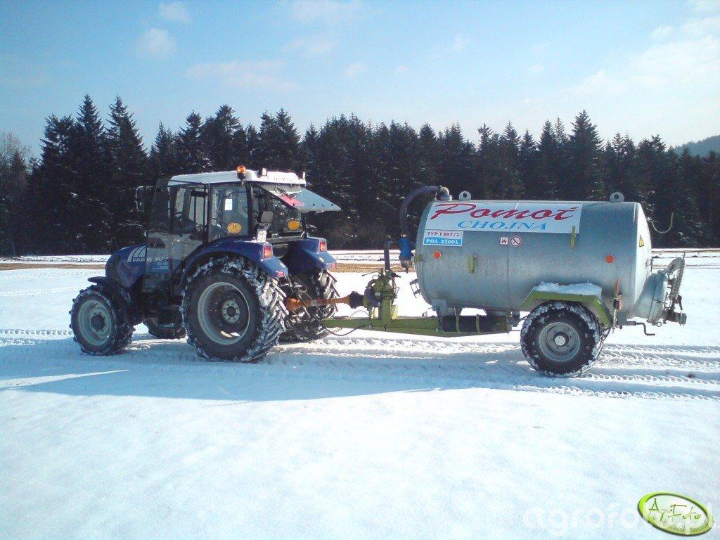 Farmtrac 80 4WD + Pomot