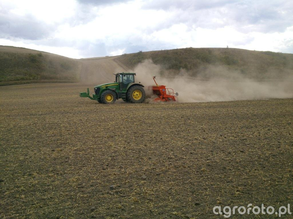 JD 7730 + KUHN HR4003 i INTEGRA G II